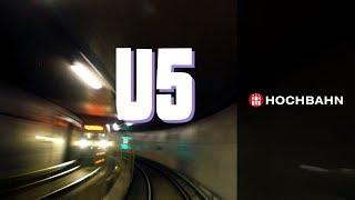 Die U5 - schneller durch Hamburg