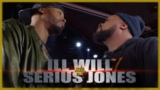 CRAZY RAP BATTLE ILL WILL VS SERIUS JONES - RBE
