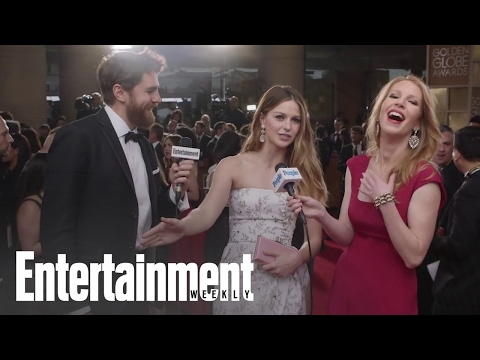 Melissa Benoist Has A Story About Channing Tatum's Frozen Dress | Entertainment Weekly