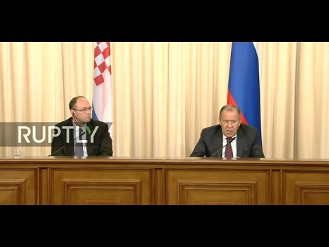 LIVE: Lavrov holds presser with Croatian FM in Moscow