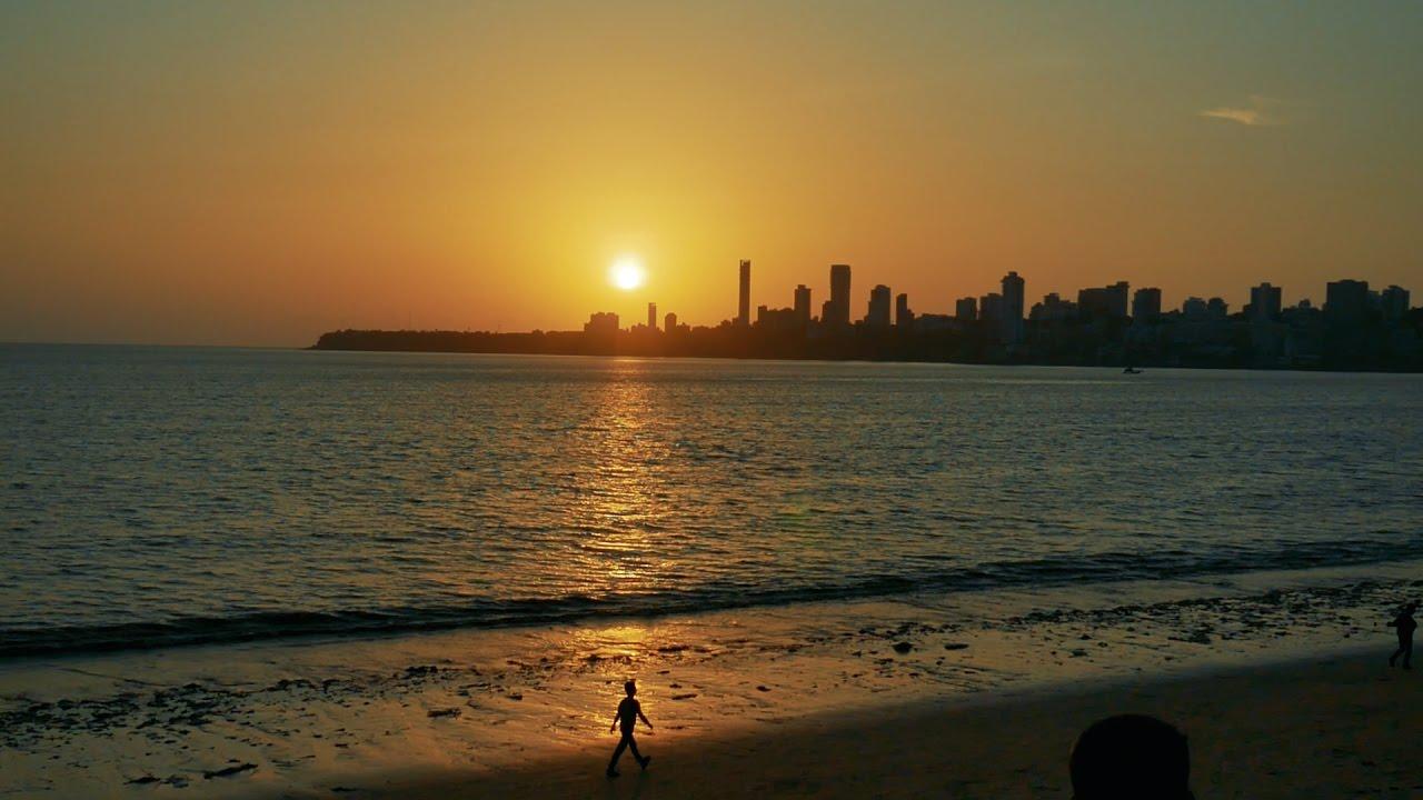 Mumbai,Nariman Point,Marine Drive, Girgaum Chowpatty Sunset.Mumbai ...