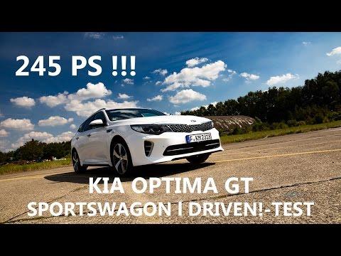 Der Schnellste Kia L Kia Optima GT SW 245 PS L DRIVEN!-Test