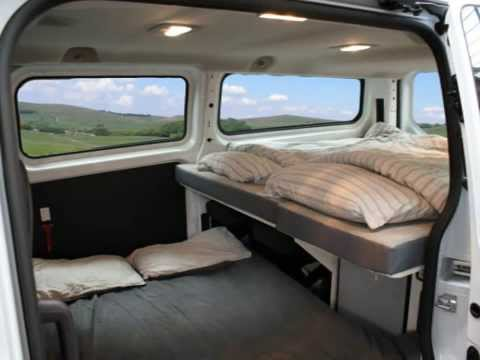 Minivan Camper Conversion >> The New Voyager 4 Berth Campervan - Spaceships UK & Europe - YouTube