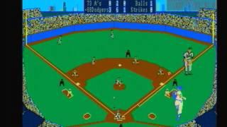 1973 Oakland A's @ 1988 L.A. Dodgers Earl Weaver Baseball Amiga