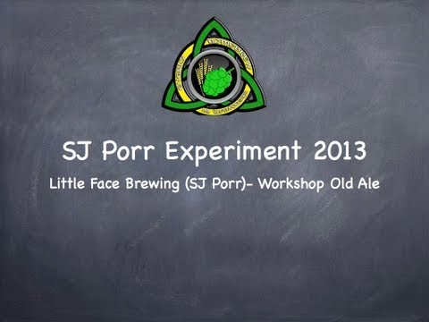 SJ Porr Exp 2013- Little Face Brewing- Workshop Old Ale