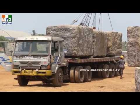 MARBLE STONE LOADING | GRANITE BLOCKS LOADING | Granite Container loading
