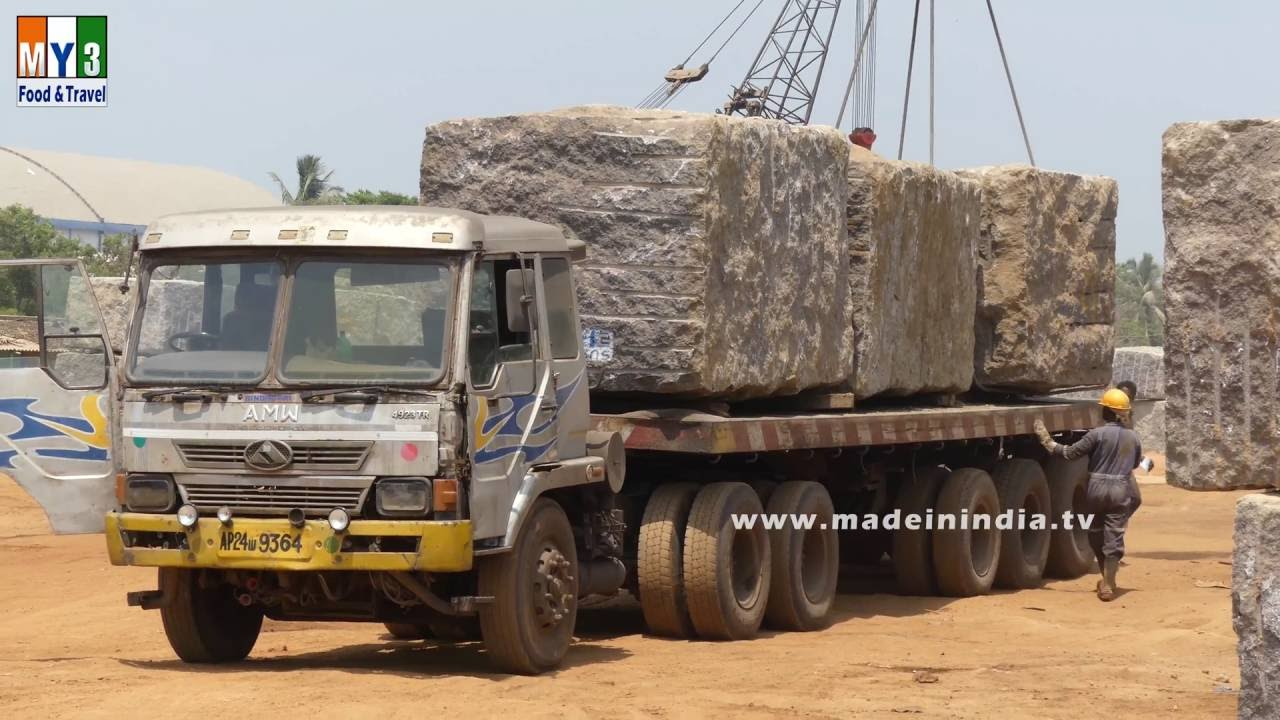 stone transport