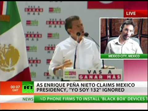 Elected Mexican president to bring peace or corruption?