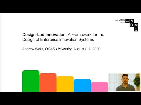 Design-Led Innovation | Presented At The 2020 DMI Academic Design Management Confernence