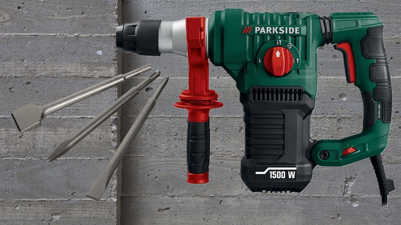 Parkside Hammer Drill 1500 E5 Unboxing By Techguru Andrew