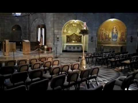 The story of the death of the Virgin Mary -  The Dormition Abbey at Jerusalem Israel