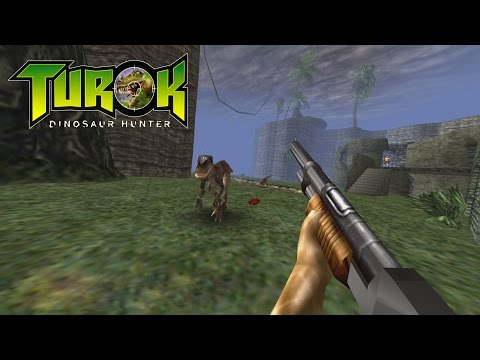 Turok: Dinosaur Hunter (PC) Gameplay (60 FPS)