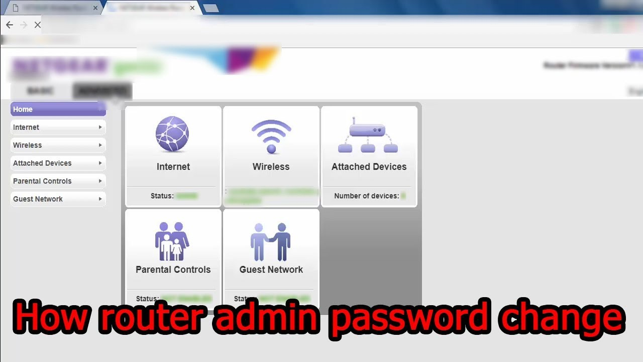 how to Change your Admin Username or Password of netgear router | full  tutorial