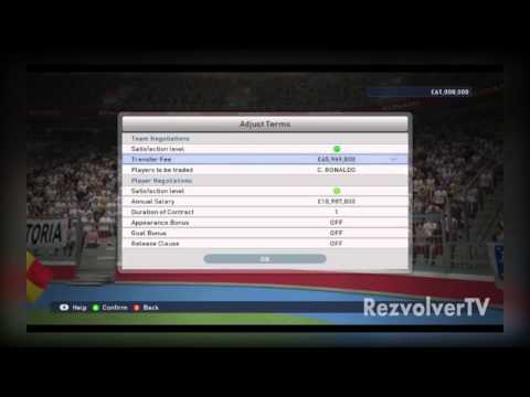 PES 2015 Master League - Transfer Player Tricks