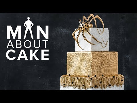 #CakeSlayer Halloween: SPIDER CAKE | Man About Cake with Joshua John Russell