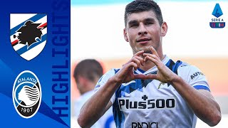 Sampdoria 0-2 Atalanta | Atalanta move level with Juve after win at Sampdoria | Serie A TIM