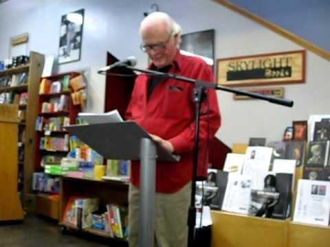 John Gilmore reads his poem the Kiss of the Black Dahlia for Elizabeth Short