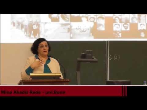Mina Ahadis Rede - uni.Bonn 2015