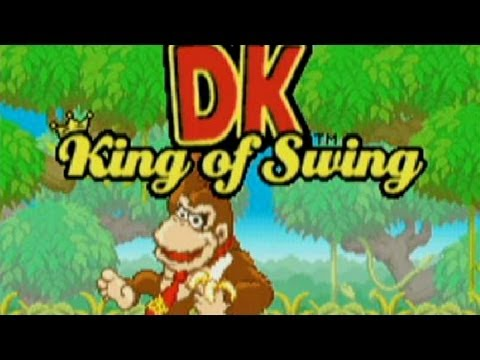 Classic Game Room - DK KING OF SWING review for Game Boy Advance