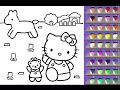 Hello Kitty Coloring Pages - Coloring Pages For Kids