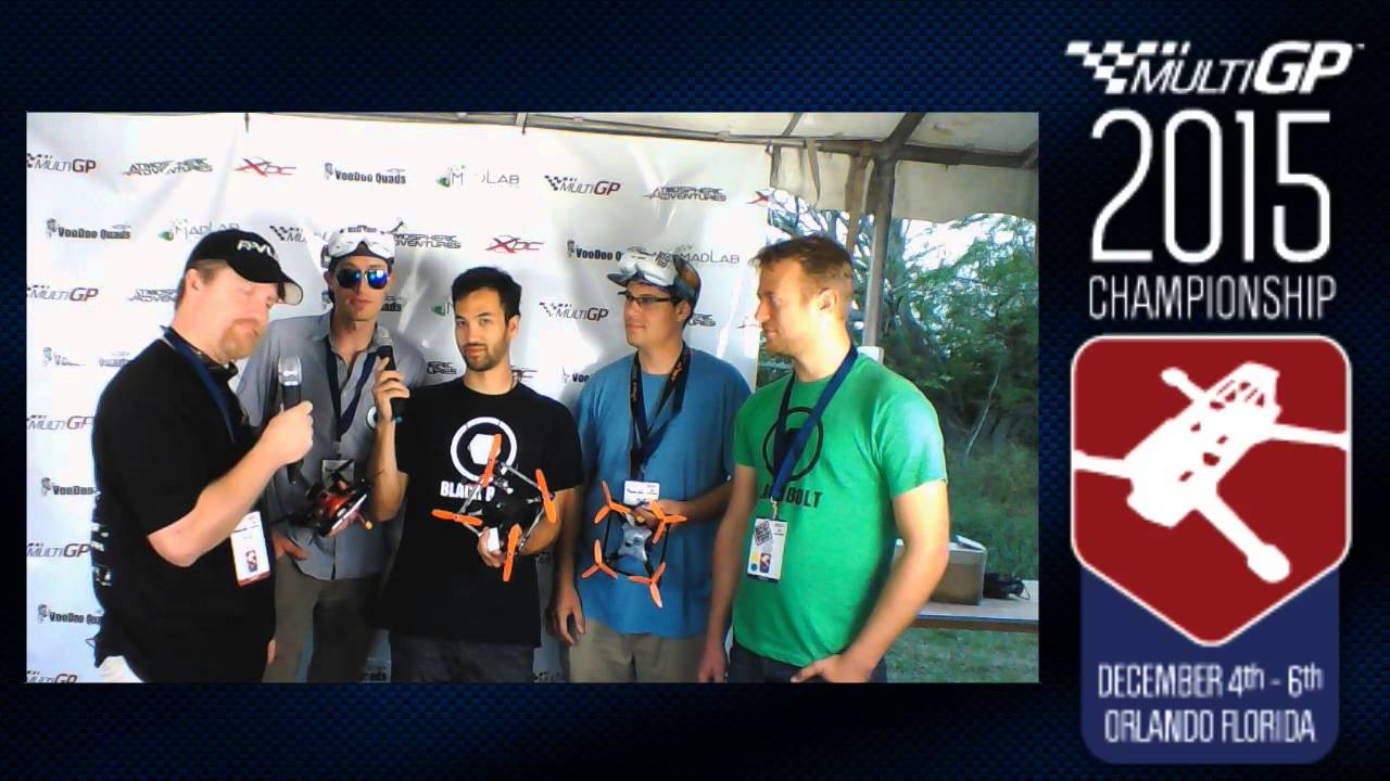 MultiGP 2015 Championship Interview with Team Big Whoop