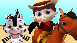 янки каракули отправился в город | мультфильмы для детей | Yankee Doddle | Little Treehouse Russia