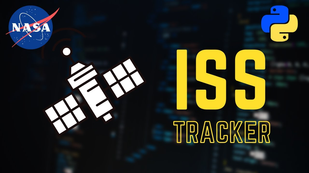 Real time International Space Station (ISS) Tracker using Python