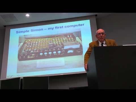 "Ivan Sutherland Talk ""A Half-Century of Computing"" in Vienna 16.05.2014 - Part 1"