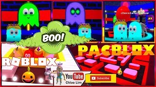 Roblox Pac Blox Gameplay! [3 0] PAC MAN On ROBLOX! We are the TEAL GHOSTS!