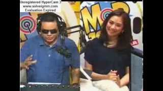 Sarah Geronimo on MOR 101.9 with DJ Chinapaps (Aug.1, 2013)