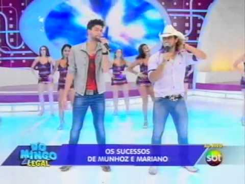 Domingo Legal - Munhoz e Mariano agitam o palco do Domingo Legal