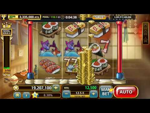 Sushi 7 's - Slots Blaze 🎰 Android Gameplay Vegas Casino Slot Jackpot Big Mega Wins Spins