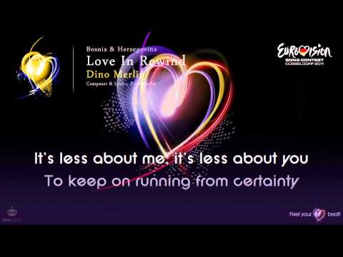 "Dino Merlin - ""Love In Rewind"" (Bosnia & Herzegovina) - [Karaoke version]"