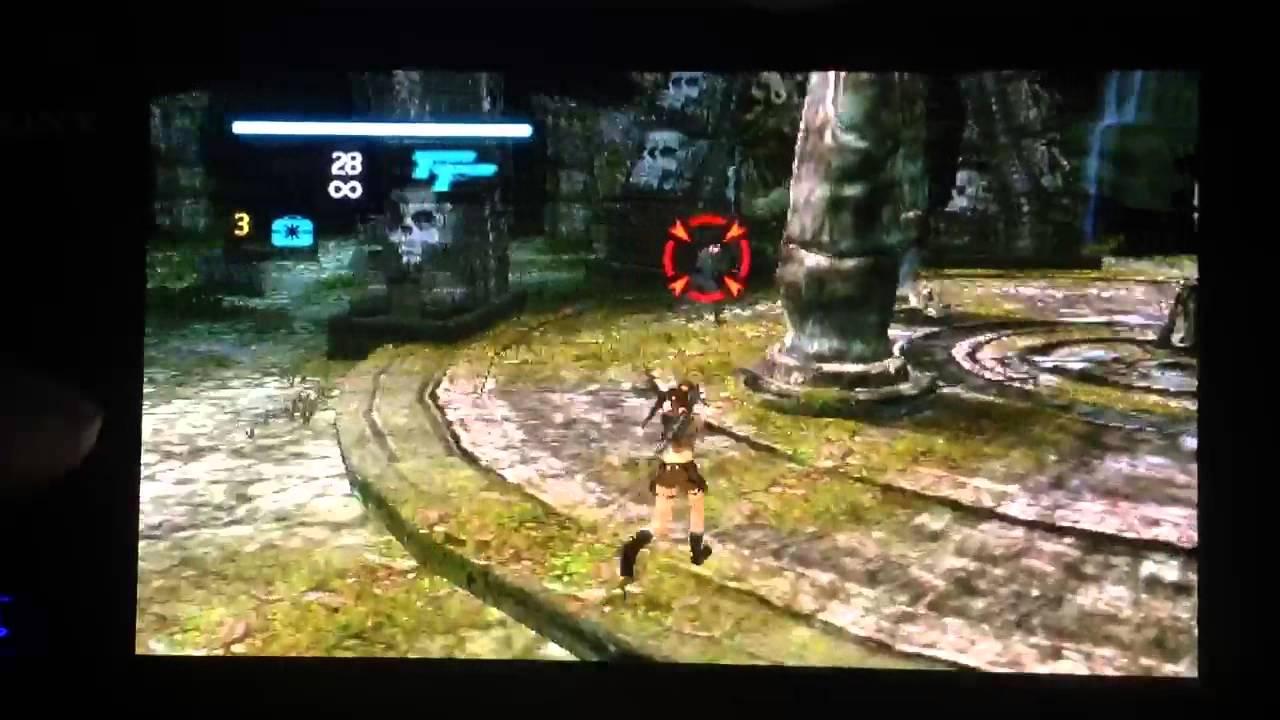 Tomb Raider Legend Ps Vita Psp Youtube