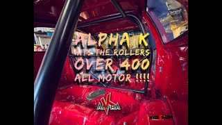 #imallmotor - Alpha K Hits the Dyno and makes over 400 WHP ALLMOTOR!