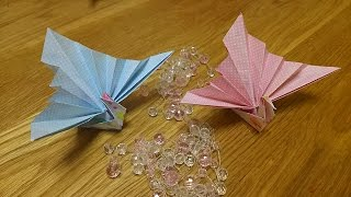 祝い鶴の折り方 thumbnail