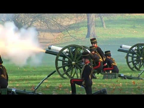 شاهد: 41 طلقة مدفعية تحية للأمير تشارلز في عيد ميلاده السبعين…  - نشر قبل 2 ساعة