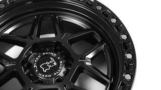 Black Rhino Wheels - Kelso in Matte Black w/ Black Bolts