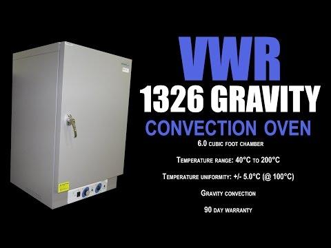 VWR 1326 GRAVITY CONVECTION OVEN (3732D)