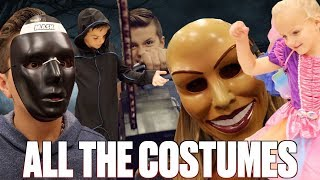 TRYING ON ALL THE HALLOWEEN COSTUMES | HALLOWEEN COSTUME SHOPPING | HUGE HALLOWEEN COSTUME HAUL