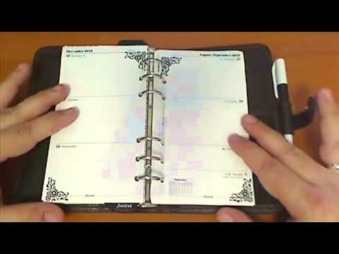Filofax Tip No 57 - Make Your Own Printed Customized Filofax Pages - PART 1