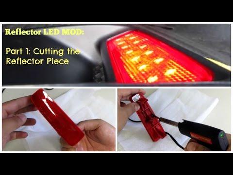 2013 2014 2015 Honda Accord Bumper Reflector LED MOD: Part 1 of 3 -DiyCarModz