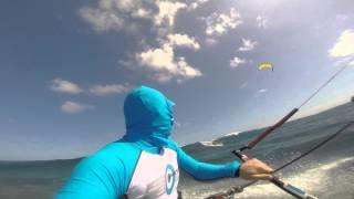 Урок катания по волнам с кайтом