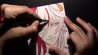 Speed Drawing Loki Laevatein from Kamigami No Asobi