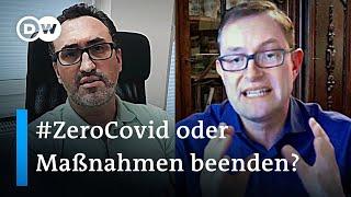 Krach um Coronamaßnahmen - Marc Hanefeld im Streitgespräch mit Christoph Lütge