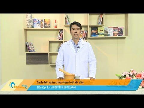 Bài thuốc đơn giản chữa bệnh viêm loét dạ dày tá tràng hiệu quả