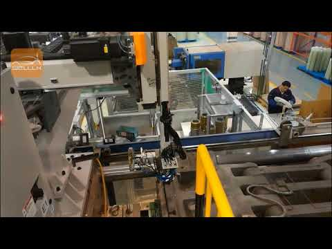 In-Molding Inserting Molding Automatic System For Cooling Fan On Automobile Engine
