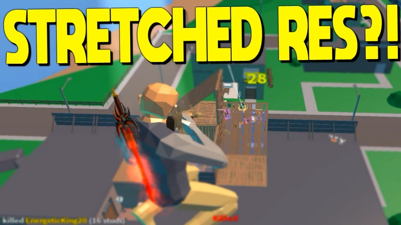 I Won With Stretched Resolution In Strucid... (Roblox ...