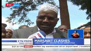 Two MPs to spend night in police custody over Marsabit violence