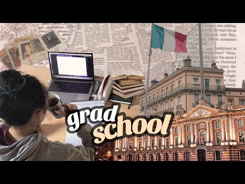 📚first day of university in france (masters degree) | american in france vlog